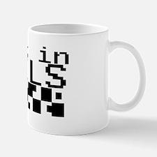 I work in PIXELS! Mug