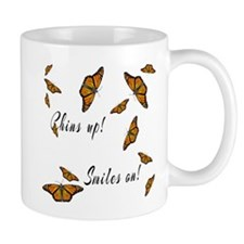 Chins Up Smiles On Catching Fire Mug