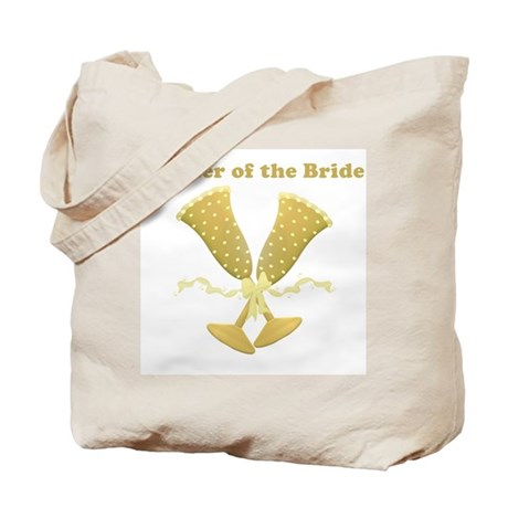 Golden Mother of the Bride Tote Bag