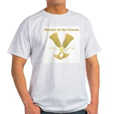 Champagne Mother of the Groom T-Shirt