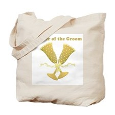 Champagne Mother of the Groom Tote Bag