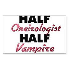 Half Oneirologist Half Vampire Decal