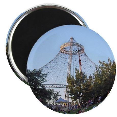 "Spokane Riverfront Park Pavilion 2.25"" Magnet (10"