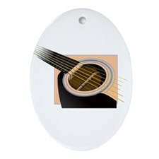 Accoustic Oval Ornament
