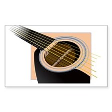 Accoustic Rectangle Decal