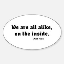 All Alike Oval Decal
