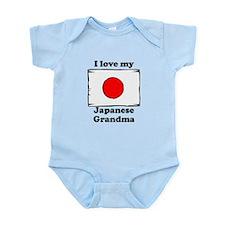 I Love My Japanese Grandma Body Suit