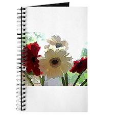 Watercolor Daisies Journal