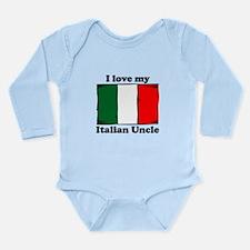 I Love My Italian Uncle Body Suit