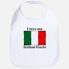 I Love My Italian Uncle Bib