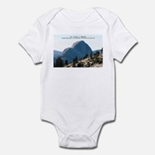 Half Dome, Yosemite Infant Bodysuit