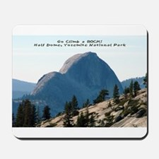 Half Dome, Yosemite Mousepad