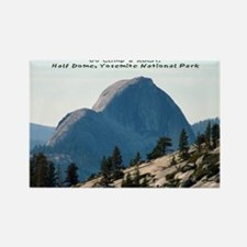 Half Dome, Yosemite Rectangle Magnet
