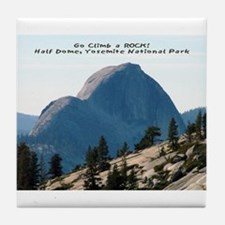 Half Dome, Yosemite Tile Coaster