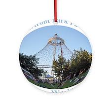 Spokane Riverfront Park Pavilion Ornament (Round)
