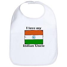 I Love My Indian Uncle Bib