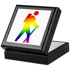 Hiker Pride Keepsake Box