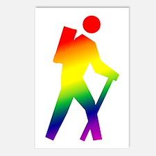 Hiker Pride Postcards (Package of 8)
