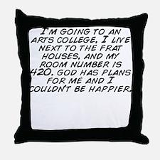 Funny Im next Throw Pillow