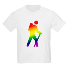 Hiker Pride Kids T-Shirt