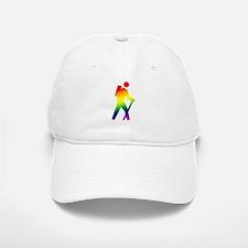 Hiker Pride Baseball Baseball Cap