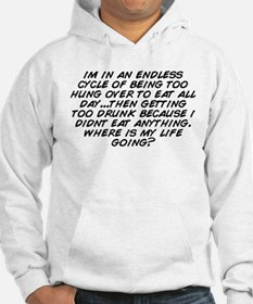 Unique Get over it cycling Hoodie