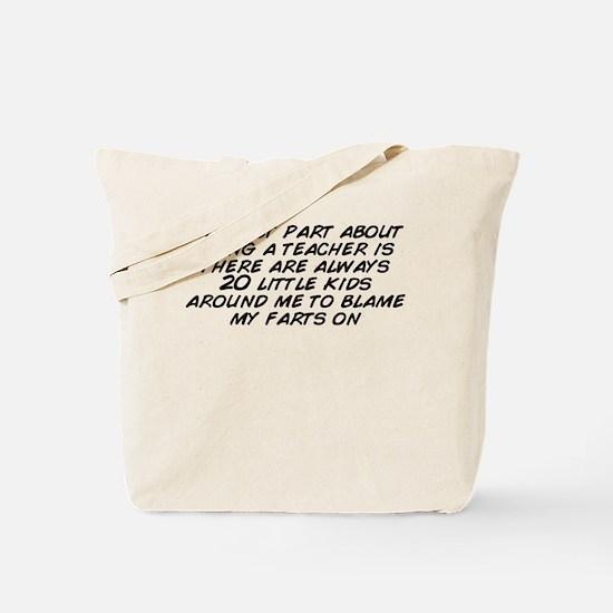 Unique My part Tote Bag