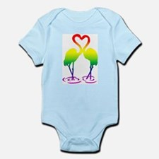 Flamingo Pride Infant Bodysuit