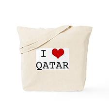 I Heart QATAR Tote Bag