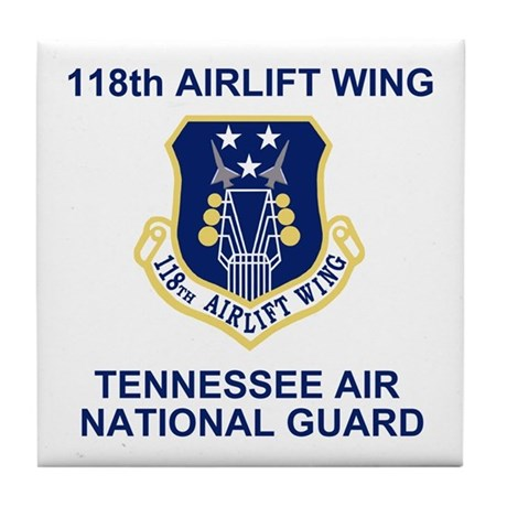 118th Airlift Wing Tile Coaster