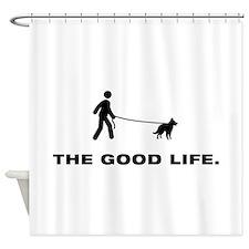 Belgian Groenendael Shower Curtain