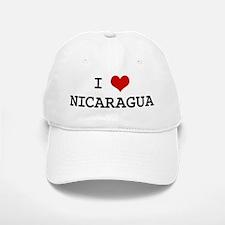 I Heart NICARAGUA Baseball Baseball Cap