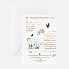 Be Strong...2 Greeting Cards (Pk of 10)