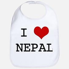 I Heart NEPAL Bib