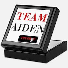 Team Aiden Keepsake Box