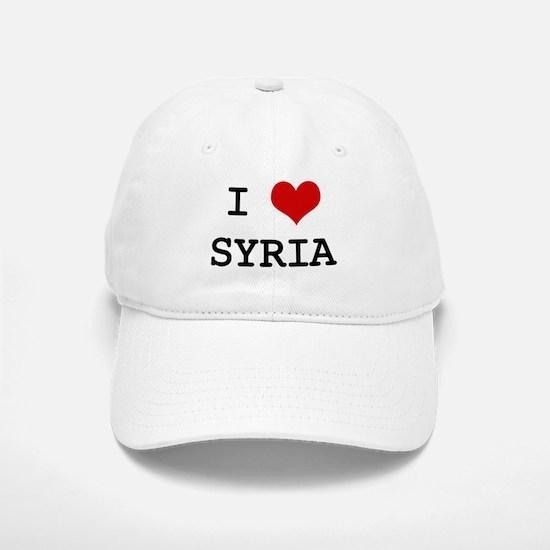 I Heart SYRIA Baseball Baseball Cap