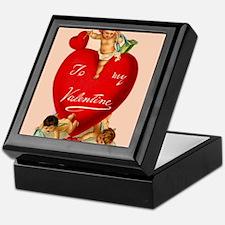 Victorian Valentine Heart Keepsake Box