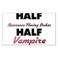 Half Insurance Placing Broker Half Vampire Decal