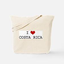 I Heart COSTA RICA Tote Bag