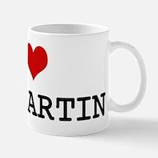 I Heart ST MARTIN Mug