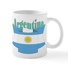 Argentina's flag ribbon Mug