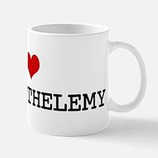 I Heart ST BARTHELEMY Mug