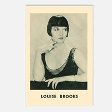 Cute Louise brooks Postcards (Package of 8)