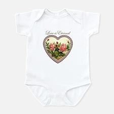 Love is Eternal - Roses Heart Infant Bodysuit
