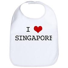 I Heart SINGAPORE Bib