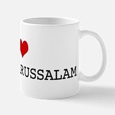 I Heart BRUNEI DARUSSALAM Mug