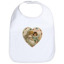 Little Valentine Sweethearts - Vintage Bib