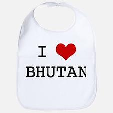 I Heart BHUTAN Bib