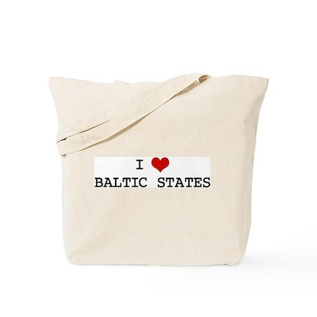 I Heart BALTIC STATES Tote Bag