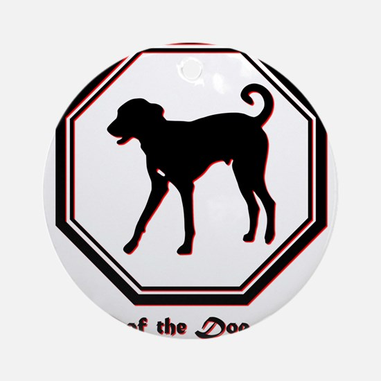 Year of the Dog - 2018 Round Ornament